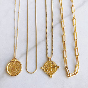Ancient Caesar Coin Necklace