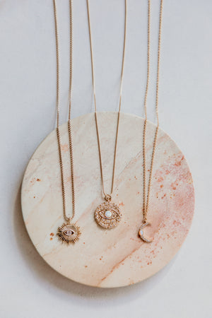 Gaze Necklace