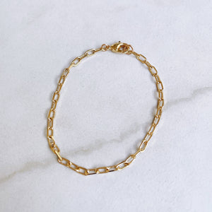 Small Linked In Bracelet