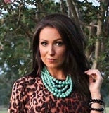 A Turquoise Blast Necklace