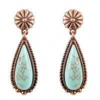 Tranquil Turquoise Earrings