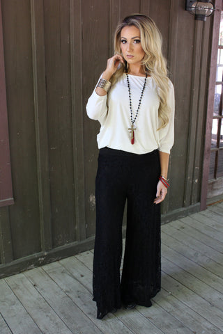 Timeless Lace Pants