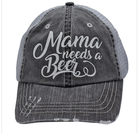 Mama Needs a Beer Cap