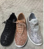 Molly Madison Glitter Sneakers