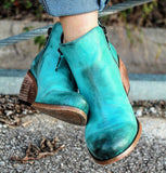 Trendy Turquoise Boots