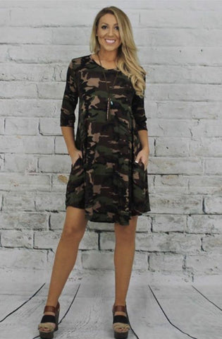 Military Madness Dress