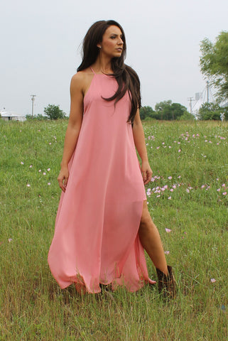 Little Coral Maxi