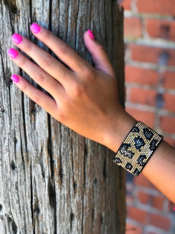 Calling You Back Leopard Bracelet