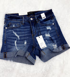 Judy Blue Distressed Shorts