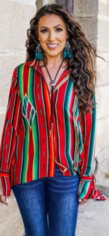 Serape Maker Top