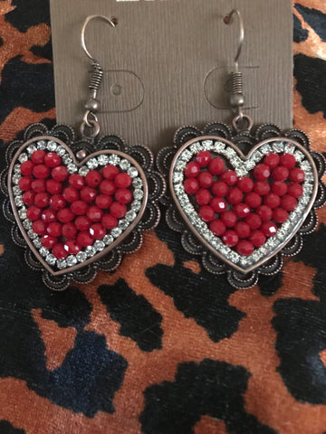 With all my Heart Earrings