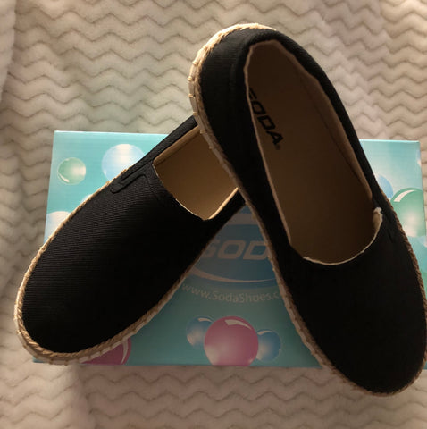 Basic Black Slip-On Shoe
