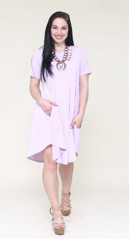 Addictive Dress-Lavender