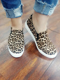 Joey's Leopard Slip On Shoes