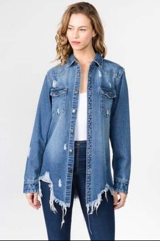 All Dolled Up Denim Jacket