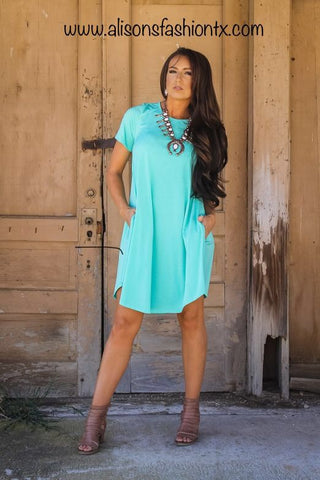 Addictive Dress-Mint