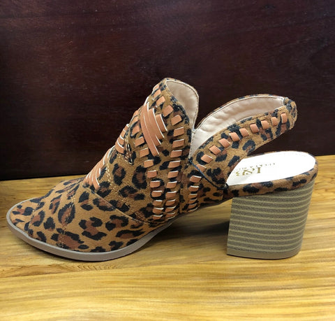 Sole Sister Leopard Sandals