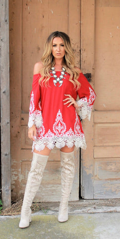 Rivera Red Tunic