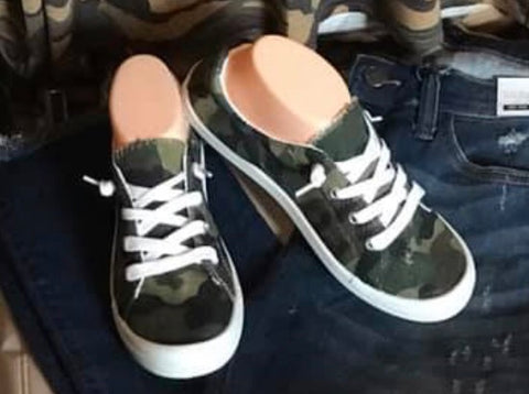 Tip Top Camo Shoes