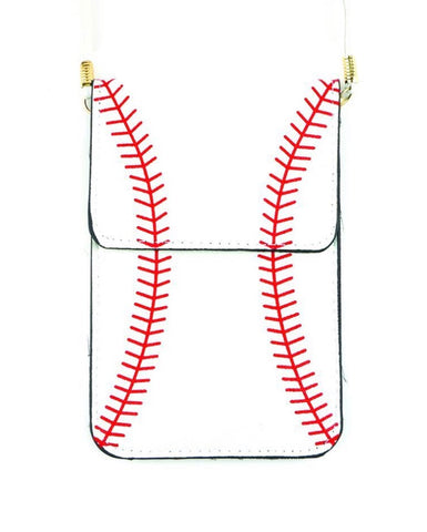 Baseball/Softball Cellphone Crossbody