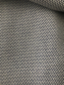 black and white textured fabric