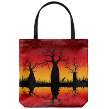 Load image into Gallery viewer, Jimulu sunburnt country design tote