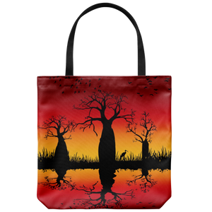 Jimulu sunburnt country design tote