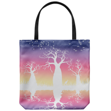 Load image into Gallery viewer, Jimulu Twilight design tote