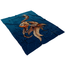 Load image into Gallery viewer, Fleece Blanket ~ Arni Gold