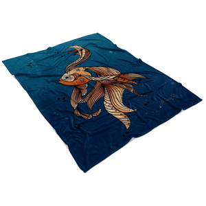 Fleece Blanket ~ Arni Gold
