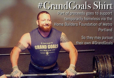 Grand Goals Shirt - Kabuki Strength Store