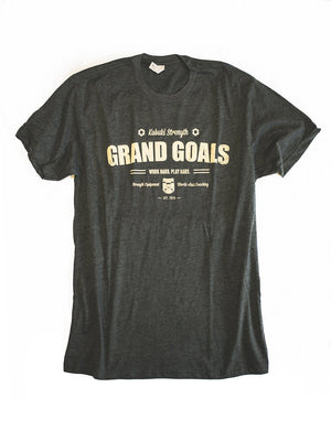 Grand Goals T-Shirt - Kabuki Strength Store