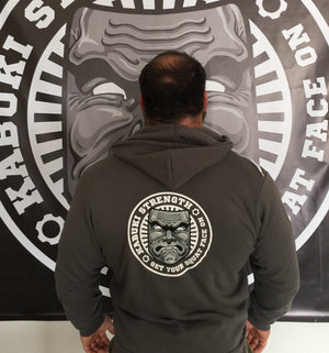 The Original Squat Face Hoodie - Kabuki Strength Store