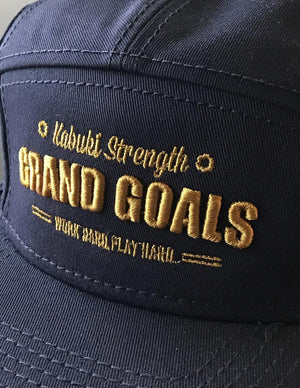 Grand Goals Old School Cap - Kabuki Strength Store