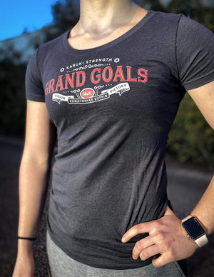 The Grand Goals Tee - Kabuki Strength Store