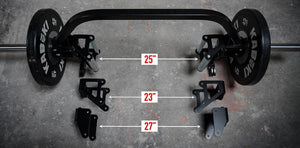 Trap Bar HD Handle Brackets