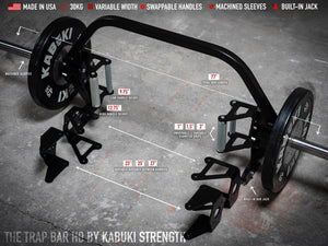 The Trap Bar HD [Blemish] - Kabuki Strength Store