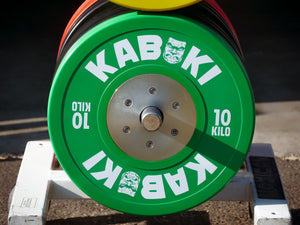 Competition KG Bumper Plates | Color - Kabuki Strength Store
