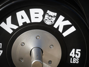 Competition LB Bumper Plates | Black - Kabuki Strength Store