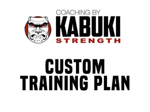 Virtual Coaching - Training Plan - Kabuki Strength Store