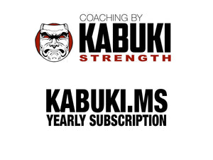 Kabuki.MS Subscription - Yearly - Kabuki Strength Store