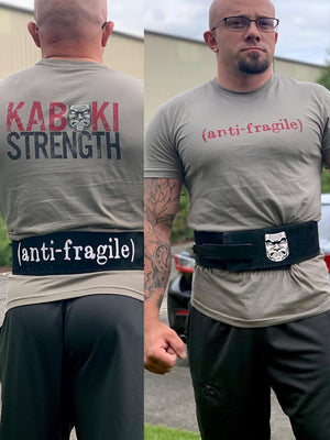 Anti-Fragile Shaved Lever Belt by Pioneer - Kabuki Strength Store