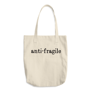 Anti-Fragile Cotton Tote Bag - Kabuki Strength Store