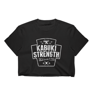 Women's Steelworker Crop Top - Kabuki Strength Store
