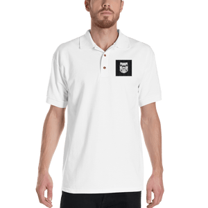 Squat Face Square Embroidered Polo Shirt - Kabuki Strength Store