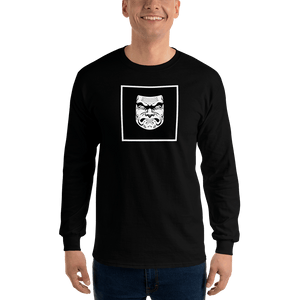 Squat Square Long Sleeve T-Shirt - Kabuki Strength Store