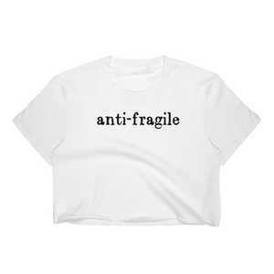 Anti-Fragile Ladies Crop Top - Kabuki Strength Store
