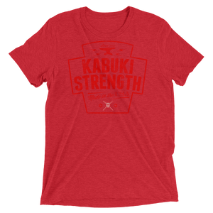 USA Steelworker T-Shirt {Red Design] - Kabuki Strength Store