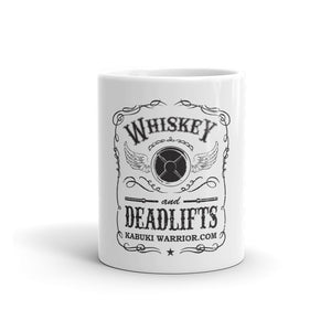 Whiskey and Deadlifts Mug for Your Coffee or Whiskey - Kabuki Strength Store