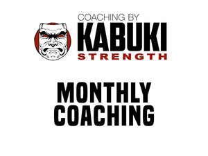 Virtual Coaching - Monthly - Kabuki Strength Store